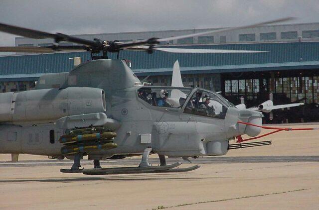 Image: U.S. Marines AH-1Z Cobra Helicopter