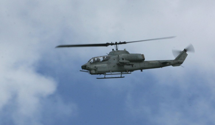 United States Marine Corps AH-1W Super Cobra Helicopter ...