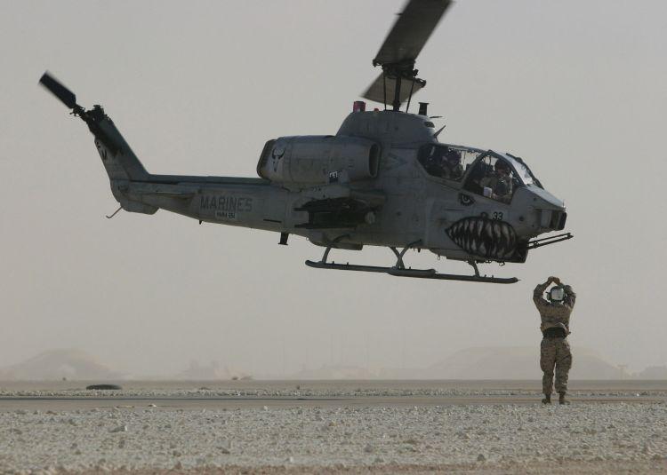 USMC AH-1W Super Cobra Helicopter [Operation Iraqi Freedom]