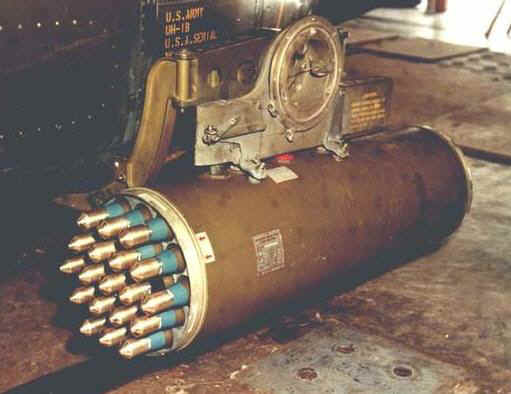 Image: M200 Rocket pod with rockets